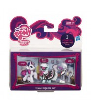 MLP Mini kucyki 3-pack